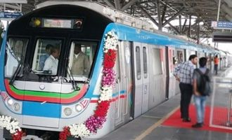 Ameerpet-LB Nagar metro route starts