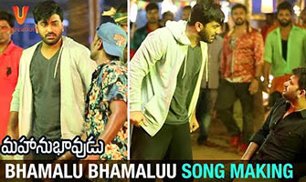 Bhamalu Bhamaluu Song Making