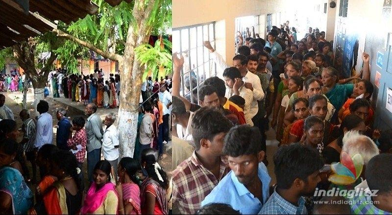 AP polls till midnight in 400 booths