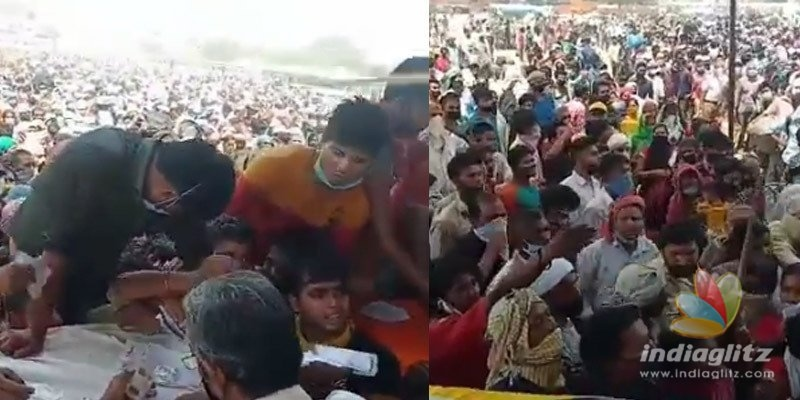 BIG Blunder?: Thousands of migrants gather at Ramlila Ground