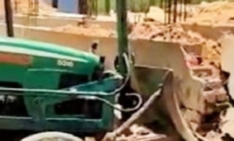 V6 reporter alleges his house was demolished due to TRS MLA's pressure