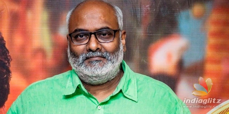 MM Keeravani gives an update on SS Rajamoulis RRR