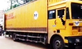 Mobile phones worth Rs 80 lakh stolen from a moving container!