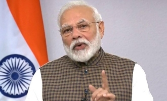 Message from Prime Minister Modi