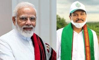 PM Modi lauds TRS MP J Santosh Kumar