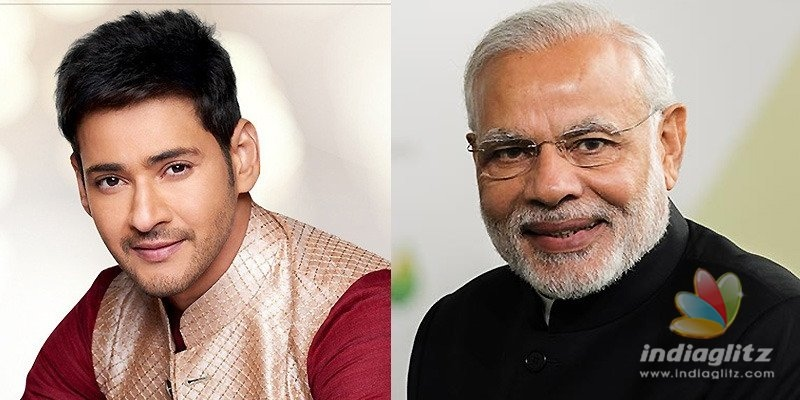 Modi replies to Mahesh Babu
