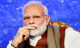 Modi twitter account hacked