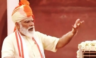 Modi mentions corona vaccine, Digital Health Mission in I-Day speech