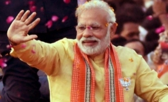 Modi files nomination in Varanasi