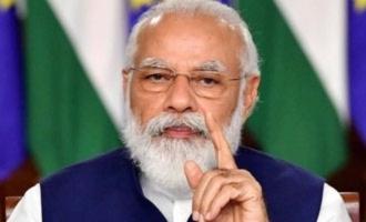 Modi talks about Kondapalli Bommalu