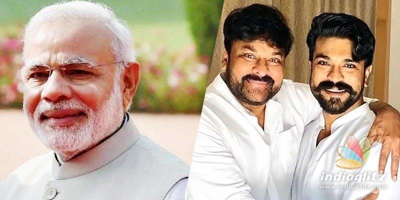 Official: Modi invites Chiranjeevi, Charan