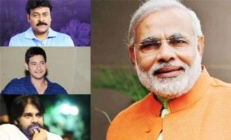 Chiranjeevi, Mahesh Babu, Pawan Kalyan & others wish Modi