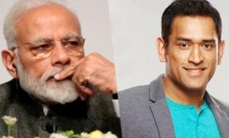 Narendra Modi writes a superb letter to MS Dhoni
