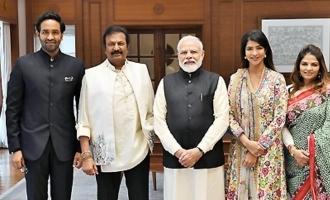 Modi to meet southern stars: The Manchus