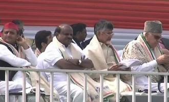 Modi lambasted at United India Rally