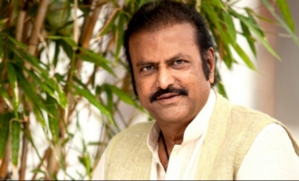 Look what Mohan Babu just said about Chiru, Charan