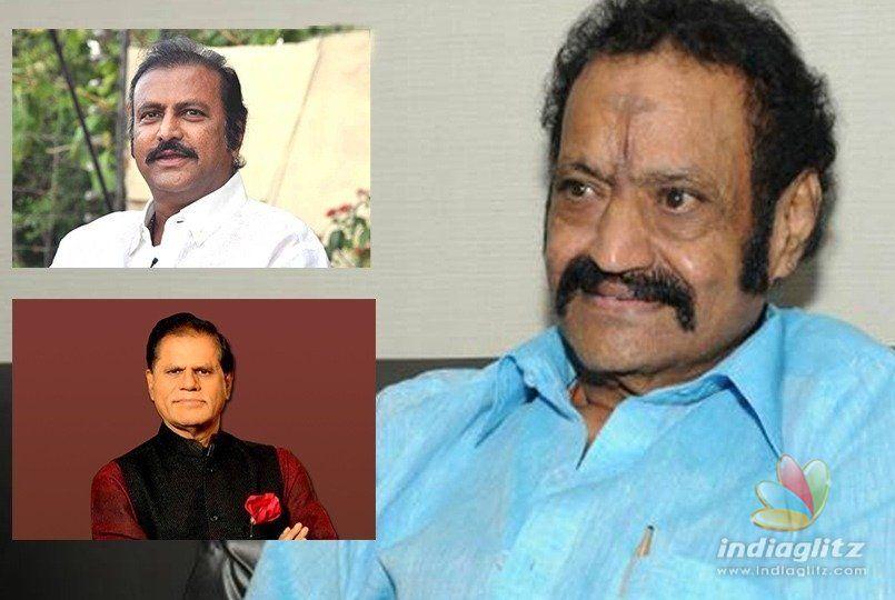 Mohan Babu, TSR condole Harikrishnas death