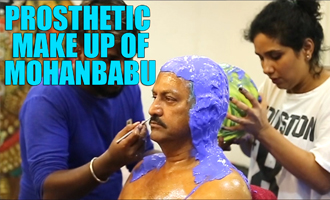 Prosthetic Makeup of Dr M Mohan Babu for 'Gayatri' movie