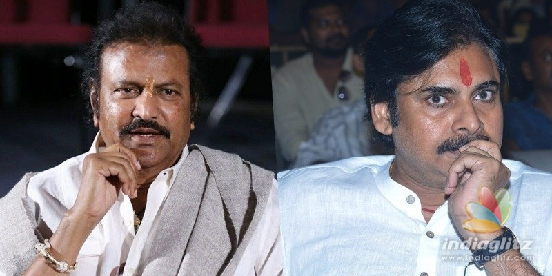 Mohan Babu ducks controversy with Pawan Kalyan for now