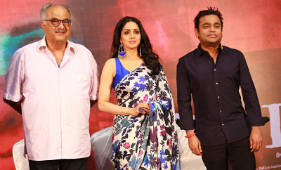 'Mom' Press Meet @ Chennai