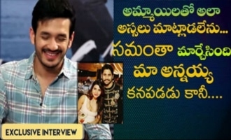 Akhil Akkineni exclusive interview