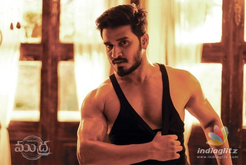 Nikhil's 'Mudra' shoot is almost done