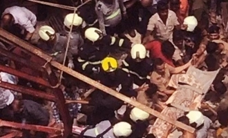 Building collapses in Mumbai, 15 families trapped