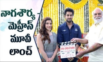 Naga Shaurya - Mehreen Movie Launch