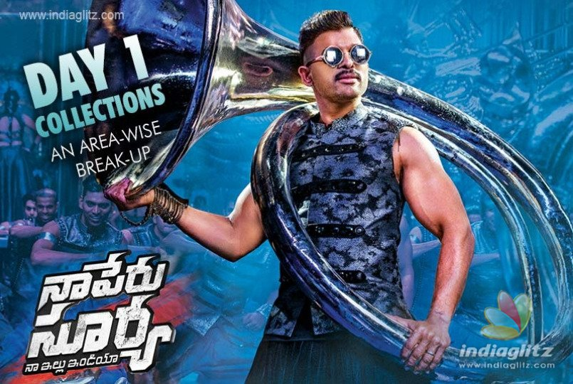 Naa Peru Surya Day 1 collections: An area-wise break-up