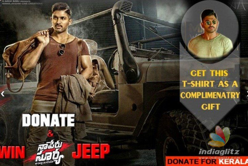 Win Naa Peru Surya jeep contest launched for Kerala
