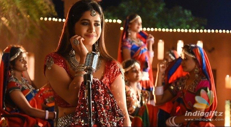 Glamorous Nabha Natesh singing Dimaak Kharaab