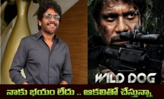 I am Not scared. I Am Doing It With Hunger: Akkineni Nagarjuna