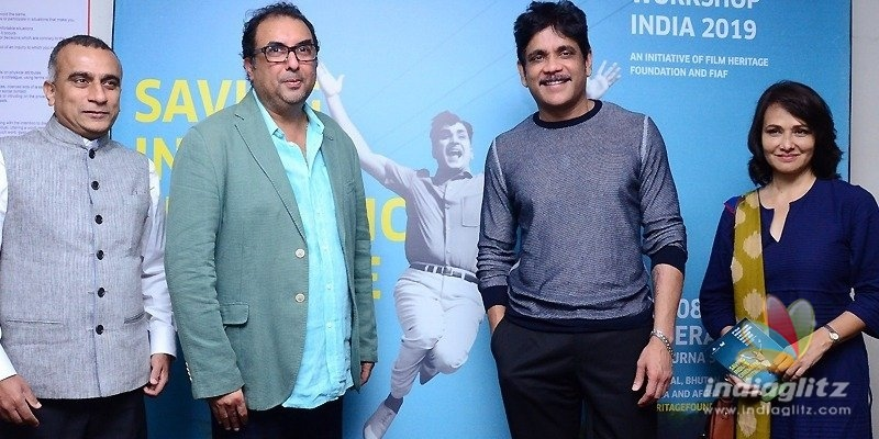 Nagarjuna to do his bit for film preservation & restoration