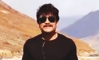 I am shooting at a dangerous location in the Himalayas: Nagarjuna