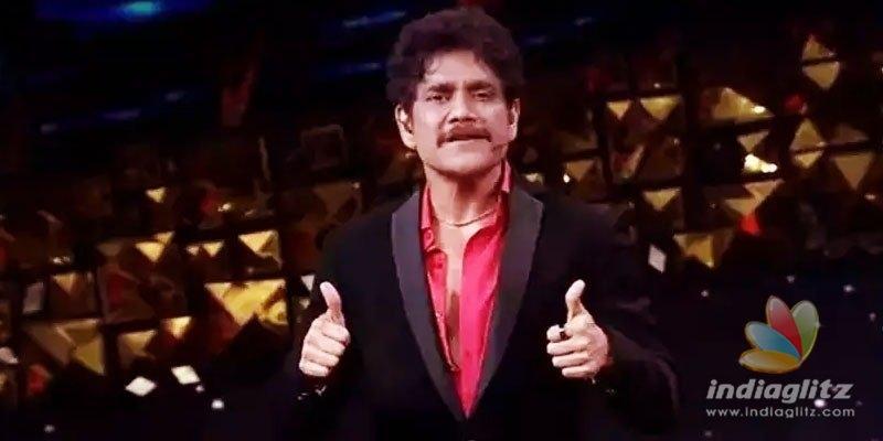 Nagarjuna and contestants make dhamaka entry on Bigg Boss 4