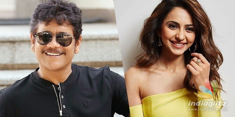 Nag shares workout video of him, Rakul