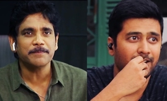 Nagarjuna plays a prank on his 'Manmadhudu-2' director