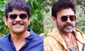 Nagarjuna, Venkatesh express gratitude to KCR for sops