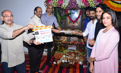 Naga Chaitanya - Sai Korrapati - Suresh Babu Movie Launch