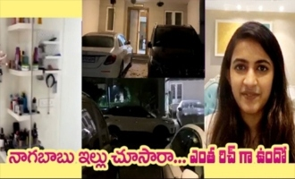 Have a look at Naga Babu's rich House