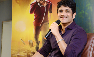 Nagarjuna Press Meet About 'Hello'