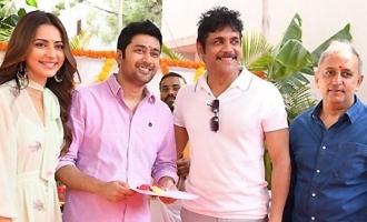 Nagarjuna 'Manmandhudu 2' Movie Opening