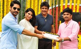 Naga Chaitanya, Samantha New Movie Launch