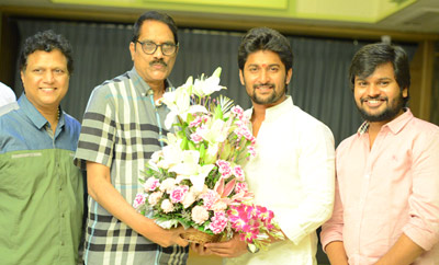 Nagarjuna-Nani Multi-starrer Songs Recording Stills