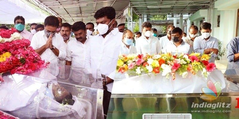 Nayini Narasimha Reddys wife Ahalya breathes her last