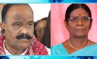 Nayini Narasimha Reddy's wife Ahalya breathes her last