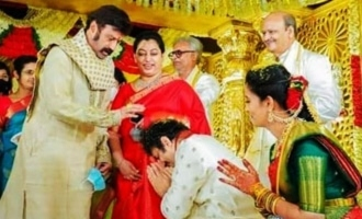 Pic Talk: Wedding in Nandamuri family; Balayya attends, Jr NTR skips