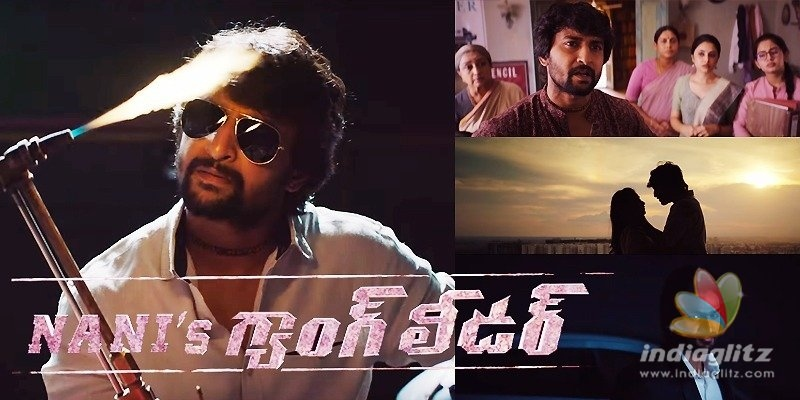 Nani's Gang Leader Trailer: A story of crime novelist!