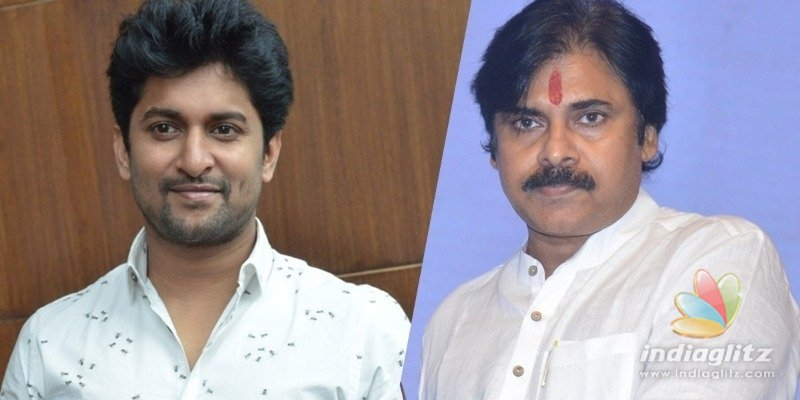 Nani first star to come out in support of Pawan Kalyan