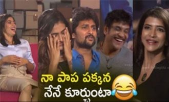Manchu Lakshmi's funny interview with DevaDas Team